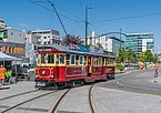 Christchurch Tram at Cathedral Square 01.jpg