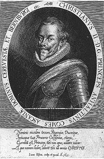 Christian I, Prince of Anhalt-Bernburg