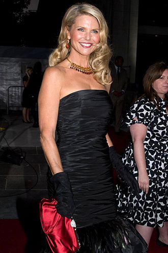 Christie Brinkley - At the Metropolitan Opera opening, September 2008