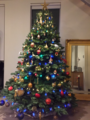 Christmas tree in private house Brisbane, Australia in December 2015.tiff