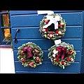 Christmas wreaths at Kronhuset- oldest building in -gothenburg -gothenburgxmas (6488018167).jpg