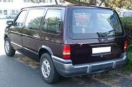 Chrysler Voyager rear 20071011.jpg