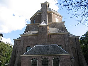 Renswoude - Church designed by Jacob van Campen for the grandfather of Maria Duyst van Voorhout's husband. Both she and her husband are buried there.