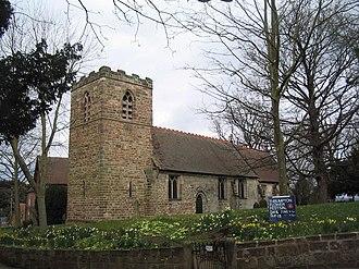 Thrumpton - Image: Church of All Saints, Thrumpton geograph.org.uk 739617