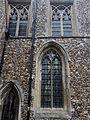 Church of St John, Finchingfield Essex England - Chancel south windows.jpg