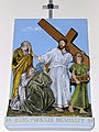 Church of the Assumption of Mary in Kock - Stations of the Cross - 08.jpg