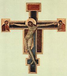 Crocifisso, Museo di Santa Croce, Firenze (prima dei danni dell'alluvione)