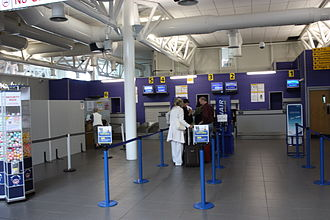 City of Derry Airport - Check-in desks 1–6