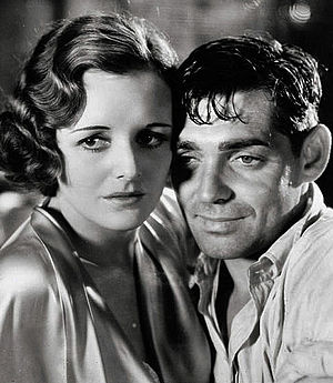 Red Dust (1932 film) - Mary Astor and Clark Gable in Red Dust