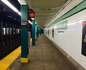 Classon Avenue - Queens Bound Platform.jpg