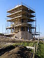 Clavell Tower re-erected february 2008.jpg