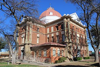 Clay County, Texas - Image: Clay Co Courthouse Henrietta, TX