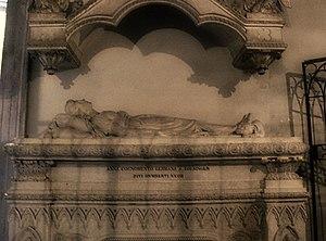 Clementia of Zähringen - Tomb of Clementia of Zähringen