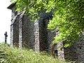 Clocher-donjon de l'église de Las Planques.JPG