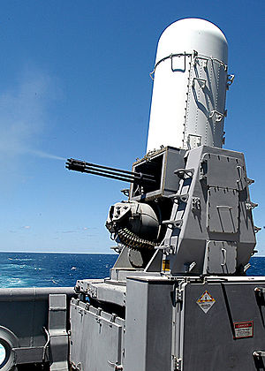 Close-in weapon system - Phalanx CIWS