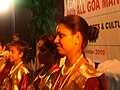 Close up of Mando performers, in Goa. Konkani music.jpg