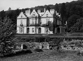 The Hound of the Baskervilles - Baskerville Hall, formally Clyro Court. It is thought this house may have provided Conan Doyle with the inspiration for The Hound of the Baskervilles