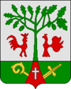 Coat of arms of Gurjevskas rajons
