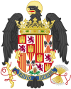 Coat of Arms of Queen Isabella of Castile (1492-1504).svg