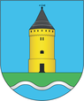 Coat of arms of Łyntupy.png
