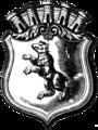 Coat of arms of Berlin 1854 (Schahl map).png