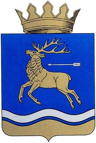 Ilovlinsky District - Image: Coat of arms of Ilovlinsky district