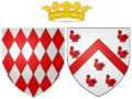 Coat of arms of Louise d'Aumont as Hereditary Princess of Monaco.png