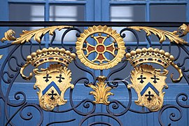 Coats of arms, balcony of Capitole of Toulouse 05.JPG