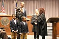 Cobb County Commissioner Lisa Cupid's 2017 swearing-in ceremony 02.jpg