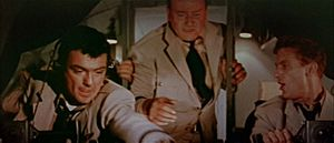 William Campbell (actor, born 1923) - Campbell (left) in The High and the Mighty (1954)