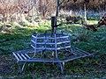 Coed Pencwm seat - geograph.org.uk - 635322.jpg