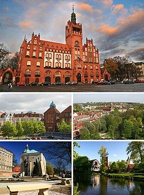 Информация о польском городе Слупске