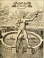 Colossus Rhodius ex Athanasius Kircher - Turris Babel - 1679 (page 133 crop).jpg