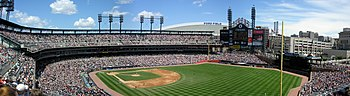 Comerica Park in Detroit, USA.