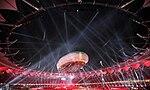 Cérémonie d'ouverture des Jeux du Commonwealth de 2010 à Delhi.