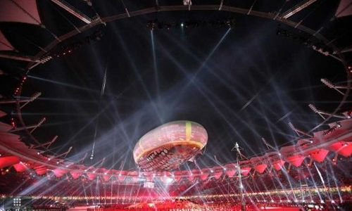 The 2010 Commonwealth Games opening ceremony in Jawaharlal Nehru Stadium is one of the largest international multi-sport event to be staged in Delhi and India. Commonwealth-Games-2010-Opening-Ceremony.jpg