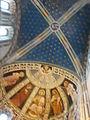 Como, basilica di sant'abbondio, cortile, interno, affreschi 10.JPG