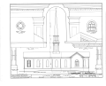 Congregational Church, Park Drive and State Route 96, Payson, Adams County, IL HABS ILL,1-PAYSO,1- (sheet 2 of 3).png