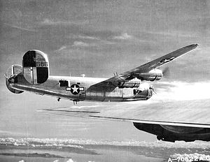 494th Air Expeditionary Group - Consolidated B-24J of the 867th Bombardment Squadron