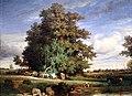 Constant troyon, la palude, 1840, 02 albero.jpg
