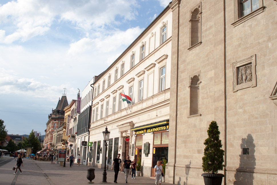 Consulate General of Hungary, Main Street in Kosice 2018-05