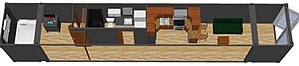 Containerized housing unit - 53 foot reefer container home