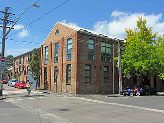 Erskineville, New South Wales - A converted factory in Erskineville.