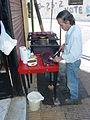 Cooking Choripan - La Boca - Buenos Aires - Argentina.JPG