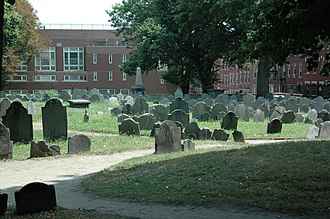 Copp's Hill Burying Ground - Image: Copp's Hill Burying Ground