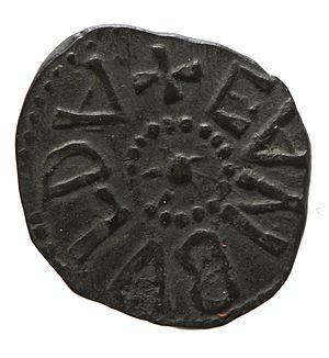 Eanbald (floruit 798) - Copper styca of Eanbald II