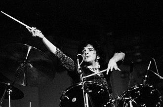 Corky Laing - Laing, with West, Bruce and Laing,  Musikhalle Hamburg, April 1973
