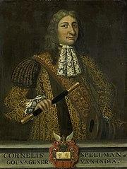 Portrait of Cornelis Speelman (1628-84), Gouverneur-generaal (1681-84)