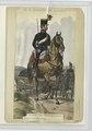 Corporal vom Fuhrwesen-Corps, Artillerie-Bespannung, en parade (NYPL b14896507-90377).tiff