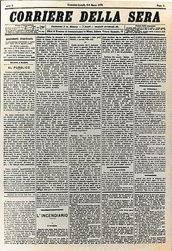 Corriere della sera wikipedia la enciclopedia libre for Corriere della casa